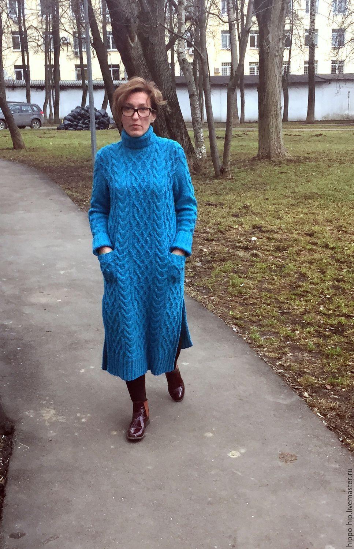 73ecf3673b1 Платья ручной работы. Заказать Платье-туника ТРАКАС. Алла Левшина (Hippo-Hip
