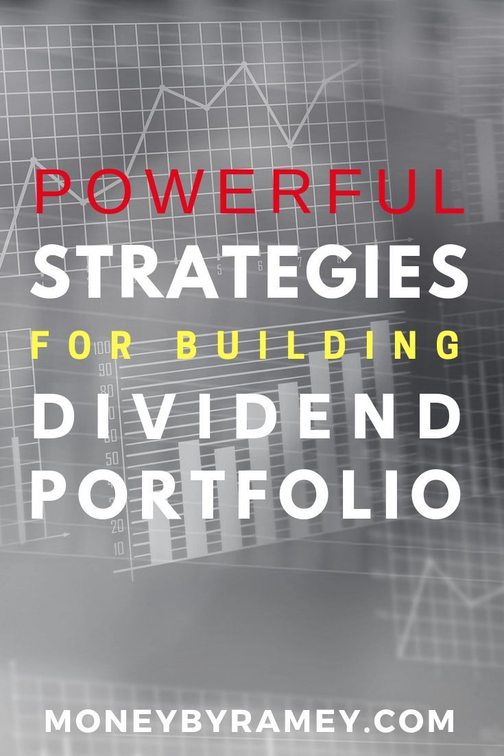 Powerful Strategies for Building Dividend Portfolio | Click the photo to learn more. #ideas #dividend #investing #finance #moneymanagement #investment #entrepreneurship #enterepreneur #stockportfolio