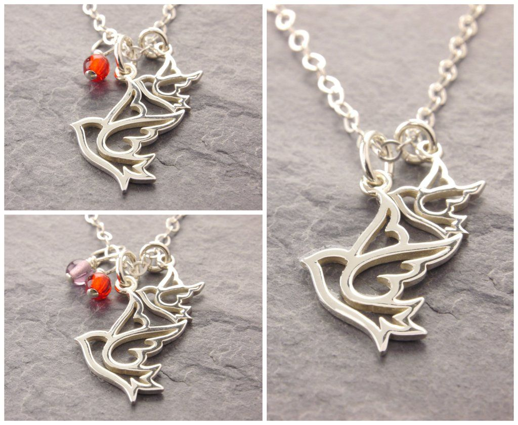 Mother daughter dove necklace kids cool finds pinterest