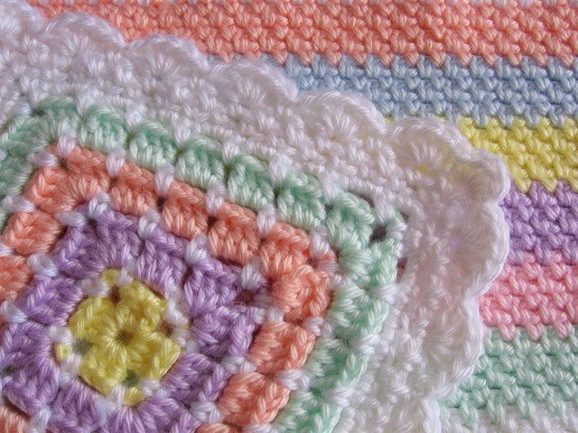Free Crochet Edging Patterns Crochet Baby Blanket Edging Crochet