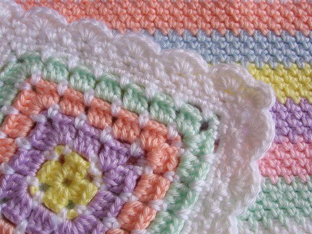 Free Crochet Edging Patterns Crochet Baby Blanket Edging Crochet