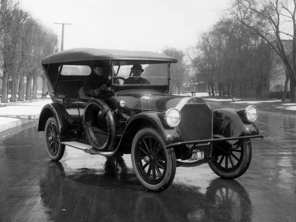 1915 Pierce Arrow Model 48 B 7 Passenger Touring Tesla Car
