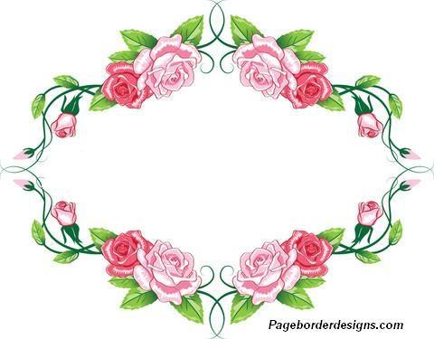 Greeting card roses border design 2014 sadiakomal ides pour la greeting card roses border design 2014 sadiakomal m4hsunfo
