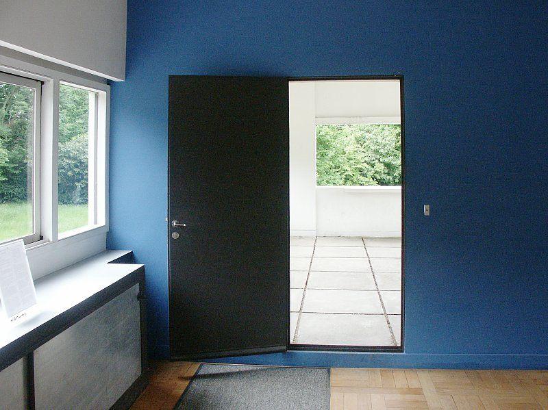 le corbusier charles douard jeanneret gris 1887 1965 villa savoye poissy france 1928. Black Bedroom Furniture Sets. Home Design Ideas