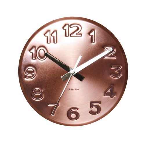 Beautiful copper clock, perfect for the kitchen Kitchens we can - küchen wanduhren shop