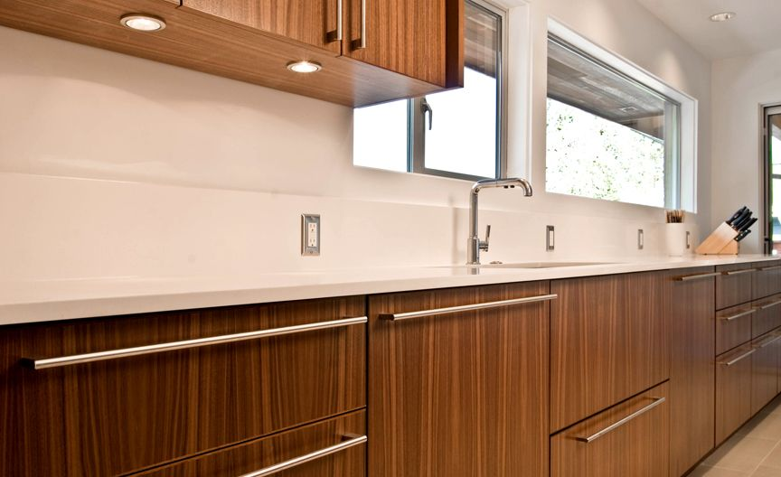 walnut cabinet - quarter sawn vertical grain | Mid century ...