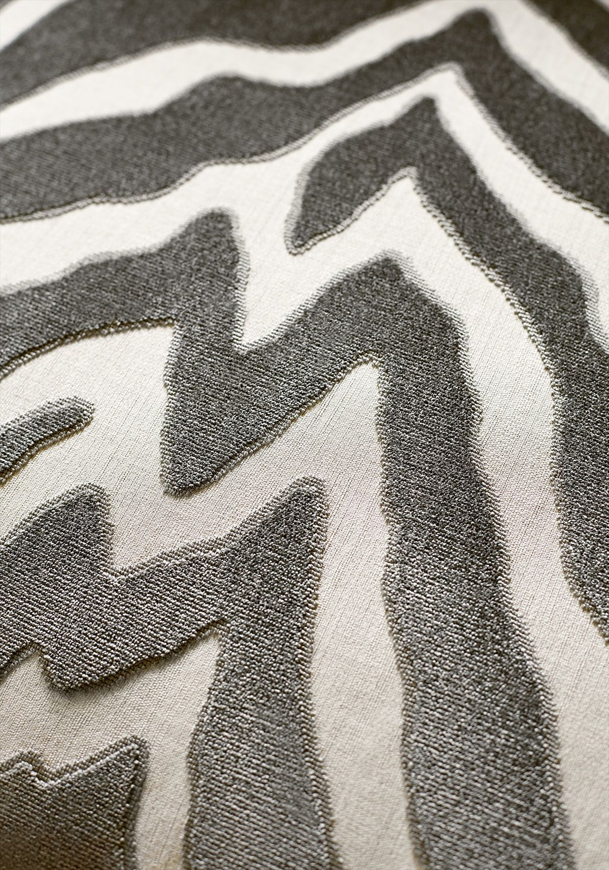 Thibaut Etosha Velvet Graphite Fabric W80404 Is Zebra Animal Print Included In Menagerie Range Of Fabrics Which A