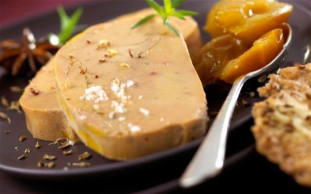 """The famous """"foie gras"""" as an appetizer during your French Christmas dinner"""