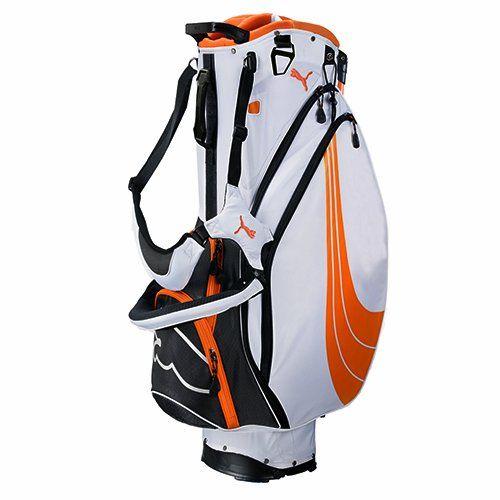 Puma Formstripe Stand Golf Bag One Size Orange White