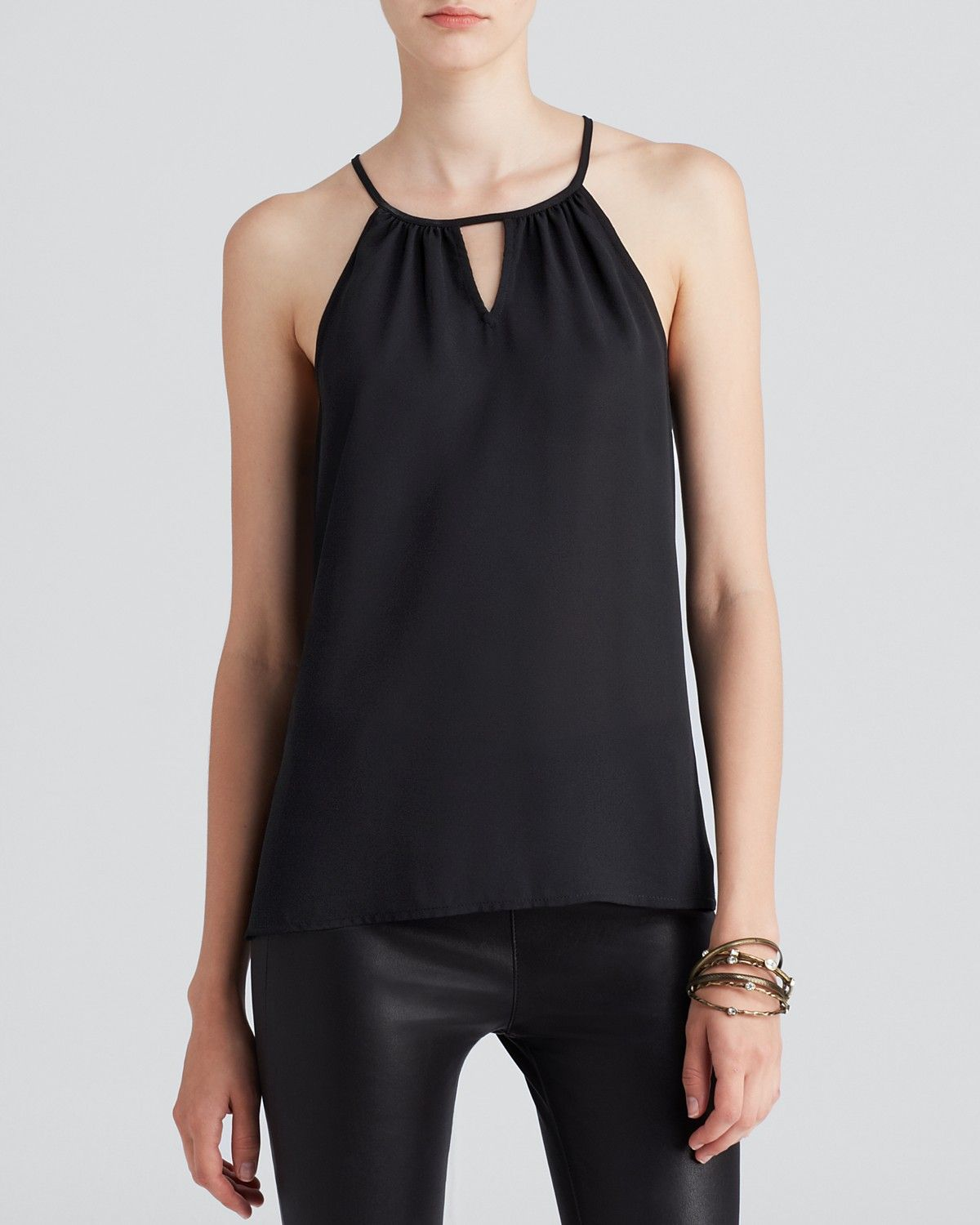The simple black top you'll wear again and again.