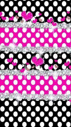 Download Premium Black Wallpaper Iphone Glitter Polka Dots for iPhone 11 2020