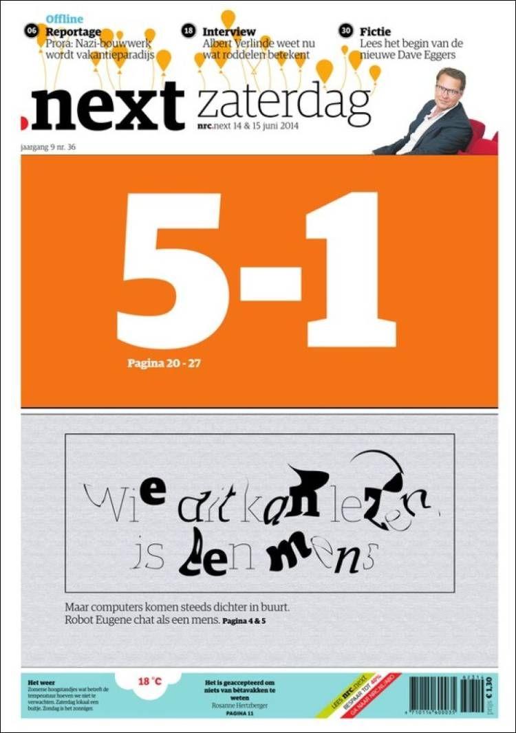 Portada de NRC • Next (Netherlands)