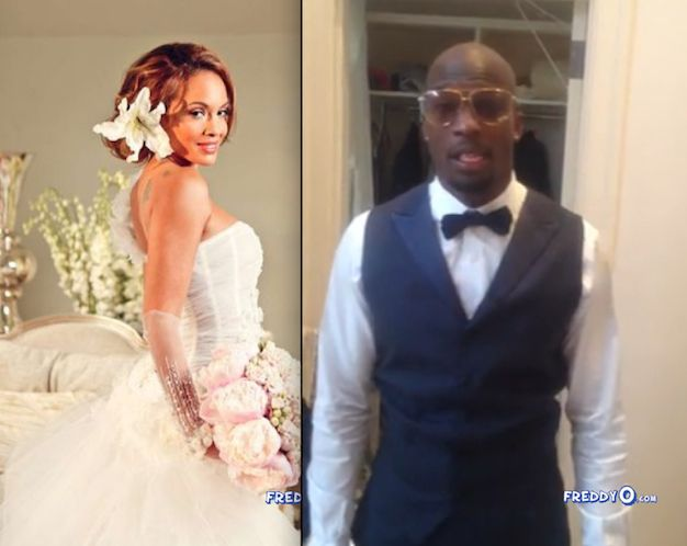 chad johnson wedding photos chad ochocinco weds evelyn lozada on fourth of