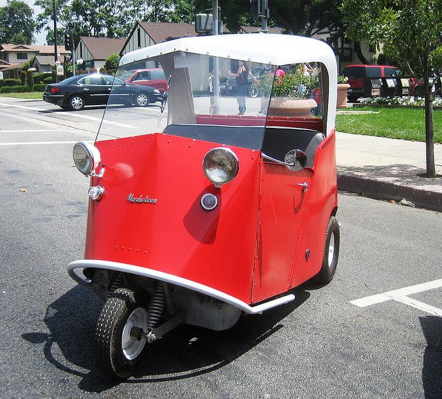 Marketeer Electric Micro Car - 1960s