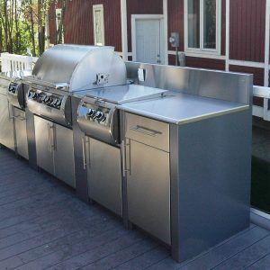 Edelstahltüren Küche | Stainless Steel Exterior Cabinet Doors Http Oboronprom Info