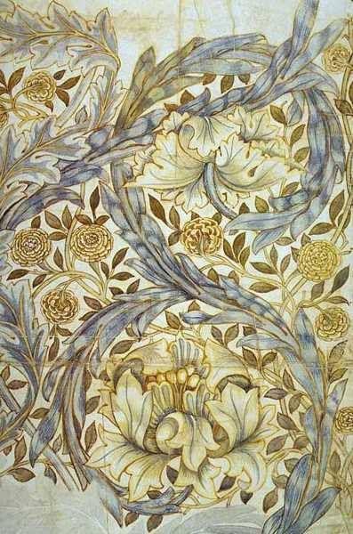 Titulo African Marigold Autor William Morris Año 1876 William Morris Art William Morris William Morris Designs