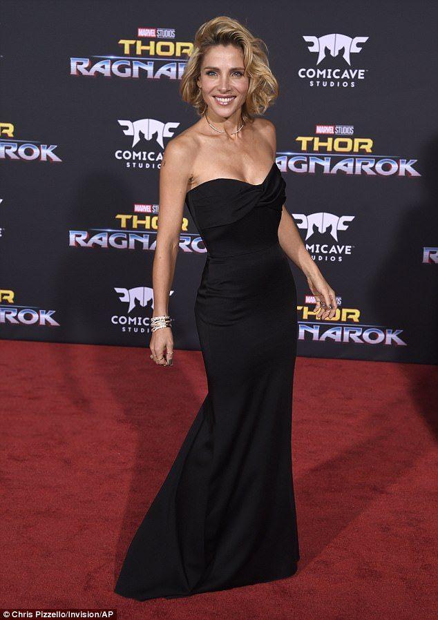 Elsa Pataky reveals figure as she outshines husband Chris Hemsworth