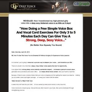 [GET] Download Deep Voice Mastery - Untapped Niche - Earn $33/sale! Bonus! : http://inoii.com/go.php?target=voicedeep