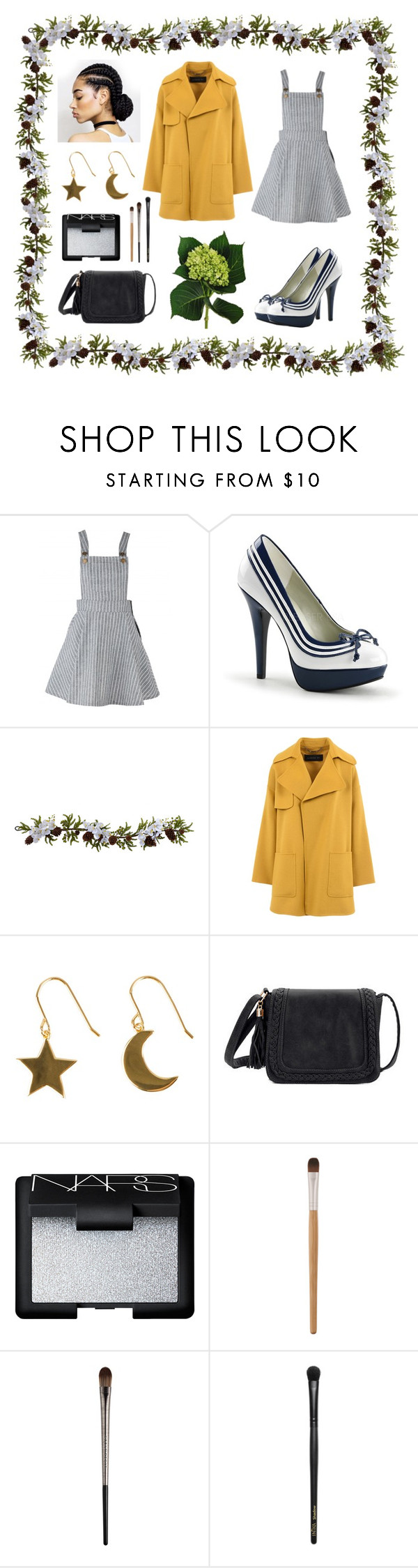 """Upbeat Morning 🌞"" by abbybencsik ❤ liked on Polyvore featuring Pinup Couture, Nearly Natural, Barbara Bui, SOPHIE by SOPHIE, NARS Cosmetics, Urban Decay, INIKA and vintage"