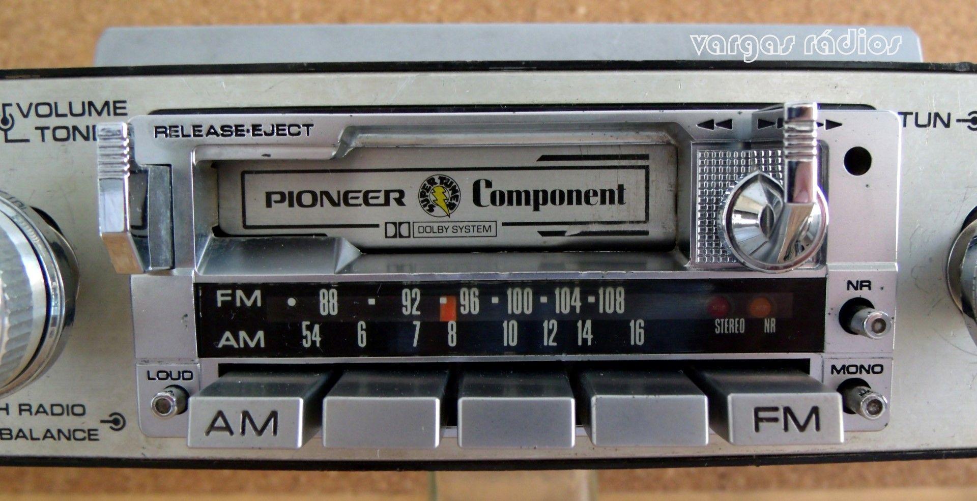 Pioneer KPX9500 old school car áudio em 2020 Rádios