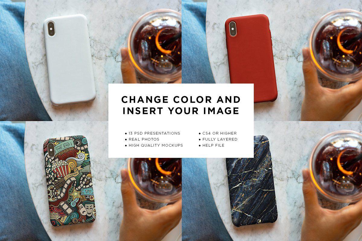 Download Iphone Case Mock Up Lifestyle Iphone Cases Insert Image Branding Mockups
