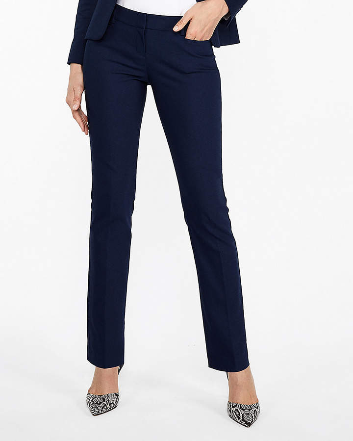 eecf5c6a53ab4 Express Low Rise Straight Leg Columnist Pant | Women's fashion ...