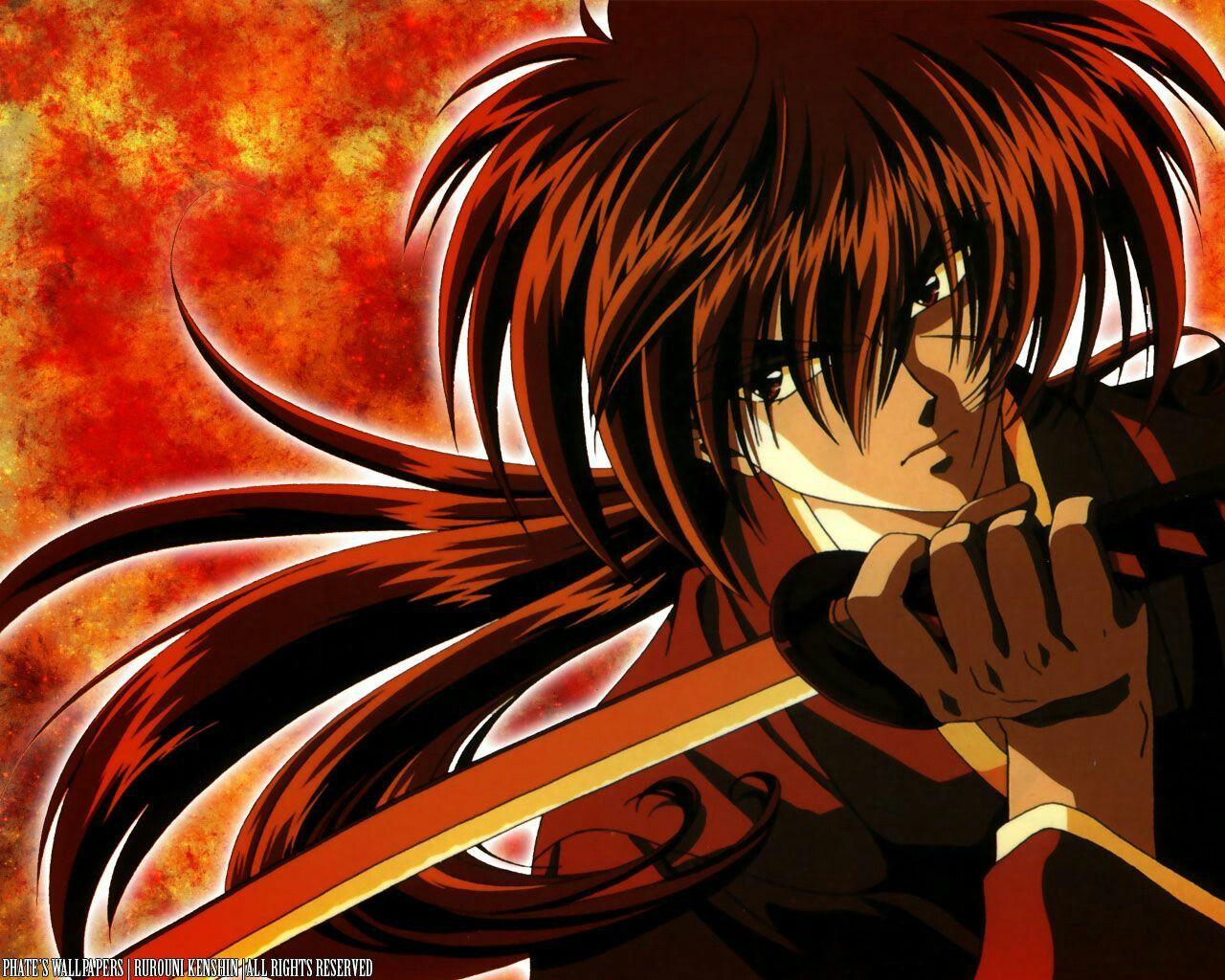 Himura Kenshin Rurouni Kenshin. Rurouni kenshin, Anime