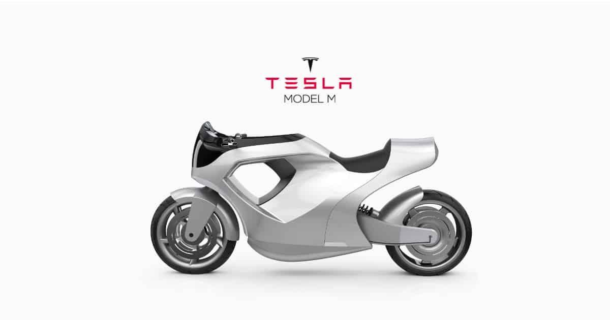 Tesla Model M The Electric Motorcycle