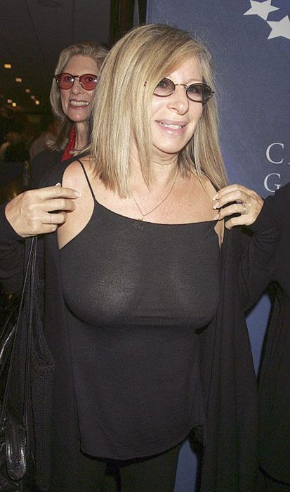 Have thought barbra streisand see through those