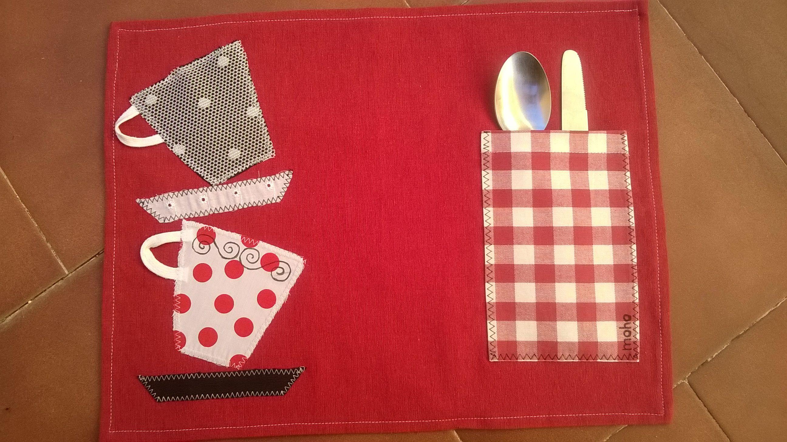 Manteles individuales para una mesa m s divertida y original patchwork pinterest manteles - Manteles originales ...