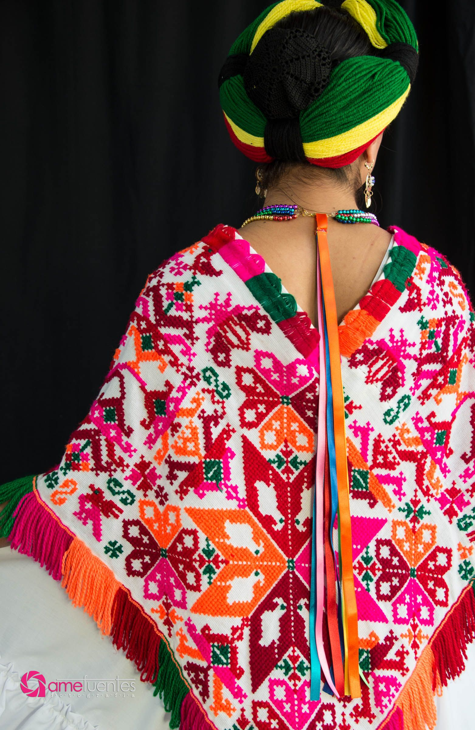 fbe7dd09fa2c3 Traje mujer Huasteca Potosina  artesaniasmexico Trajes Tipicos De Mexico