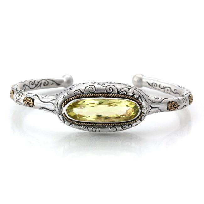 Sara Blaine Lemon Citrine Bracelet