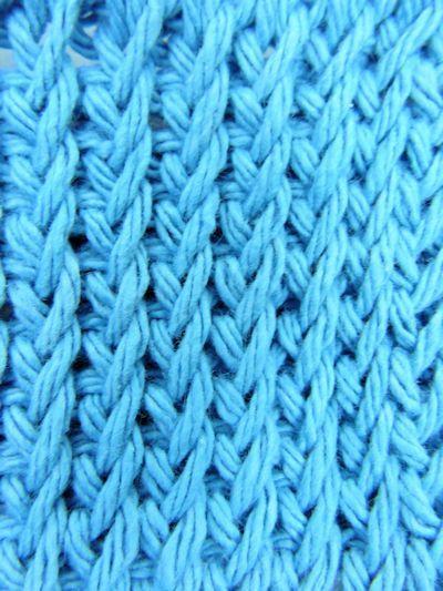 Free Crochetkim Video Tunisian Twisted Knit Stitch Pinterest