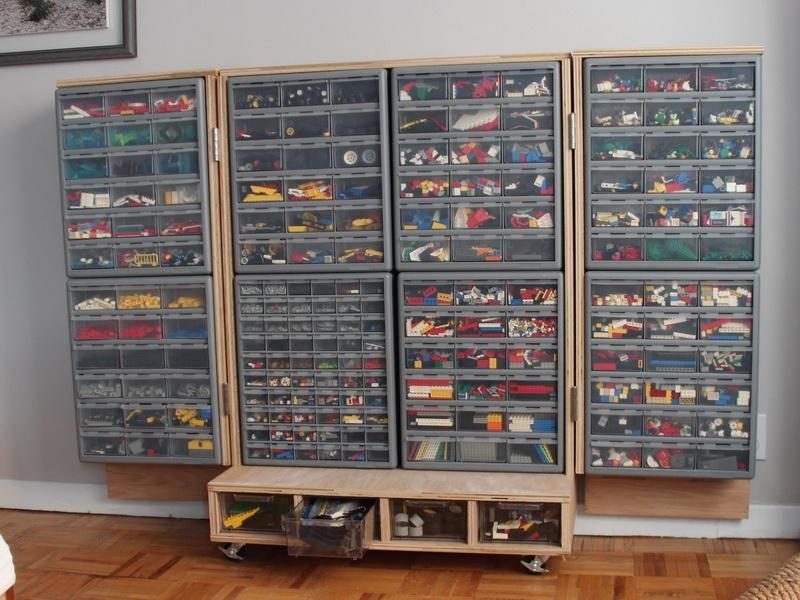 Lego Storage Brick Ideas