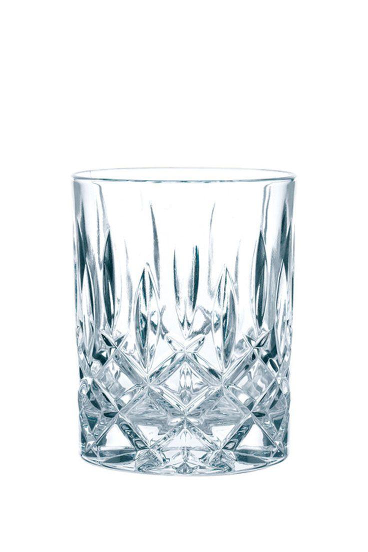 Kristall-Whiskeygläser Noblesse, 4 Stück | Cocktails mixen, Barwagen ...
