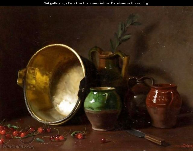 Kitchen Still Life - Jacques Delanoy