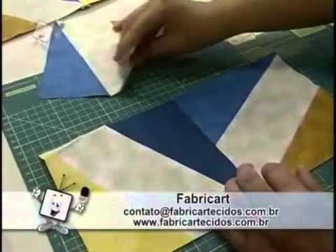 Dica Ana Cosentino: Bloco Estrela com Régua Entrelaçada Duna Atelier (Ateliê na TV)