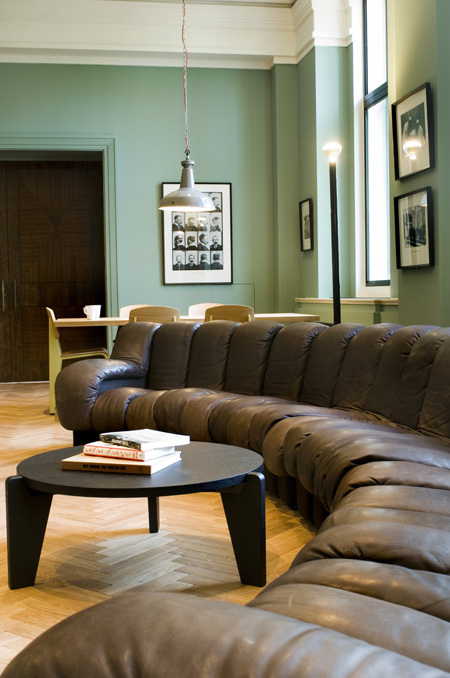 Wellcome Collection Club Room By Studioilse Dezeen Brown Living Room Living Room Decor Brown Couch Brown Couch Living Room