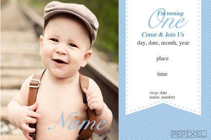 2nd Birthday Invitations 3rd Invitation Invites