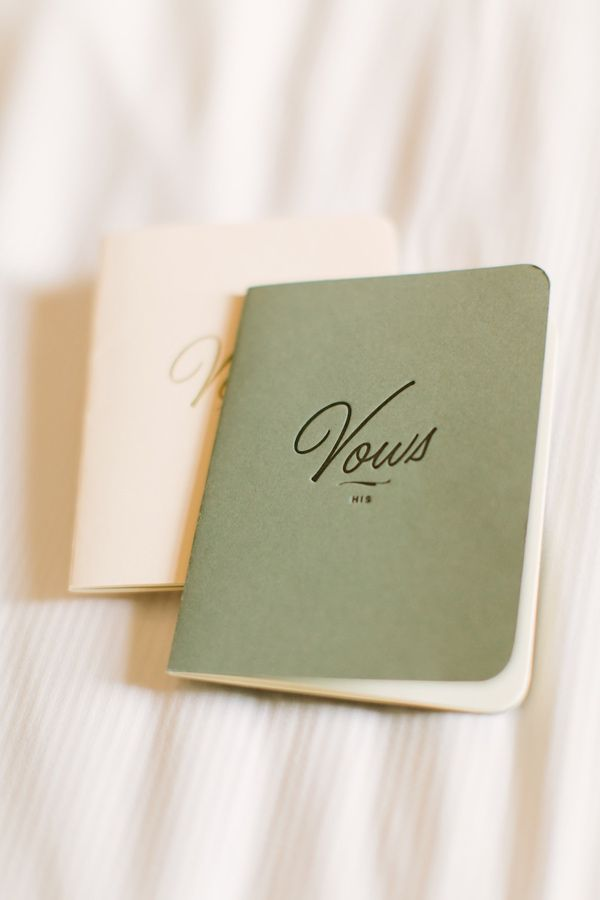BHLDN vow journals carried along on a paris elopement | via: ruffled