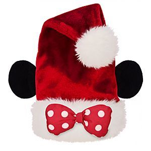 40eaa18ae9225 Disney Adult Minnie Mouse Ears Santa Hat
