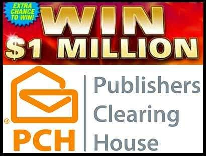 PCH $1 Million Sweepstakes SuperPrize – Giweaway No  8035