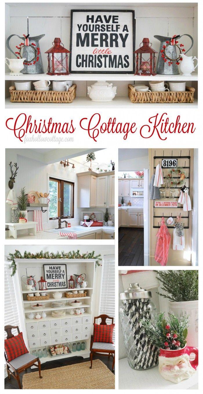 cottage farmhouse kitchens inspiring in white decor christmas kitchen copper kitchen decor on farmhouse kitchen xmas id=58643