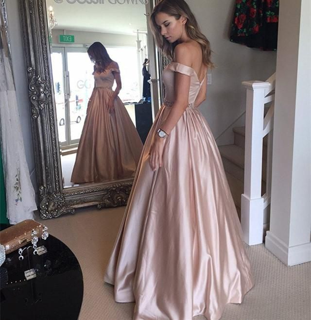 Form Fitting Ball Gowns