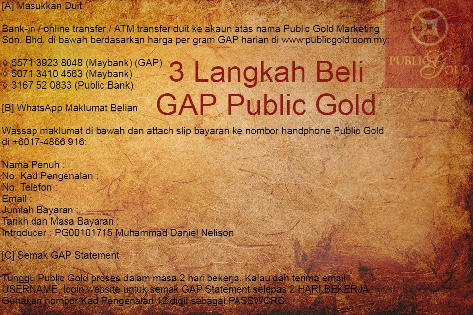 Harga Emas Terkini In 2020 Public Gold
