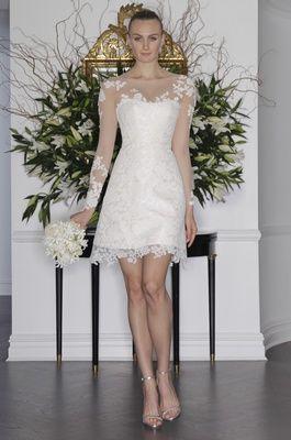12 Short Wedding Dresses for a Fun, Casual Celebration | Short ...