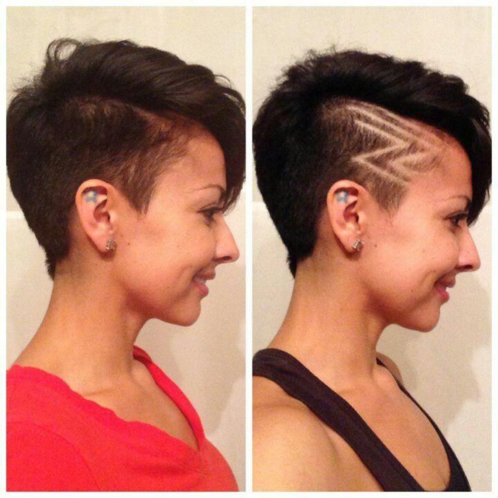 clipper design short haircut