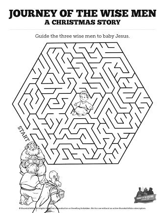 Image result for christmas prophets maze Hledej Pinterest - new coloring pages for christmas story