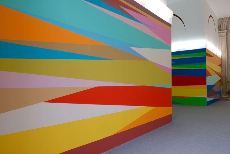 Odili Donald Odita - Jack Shainman Gallery | mural painting ideas ...