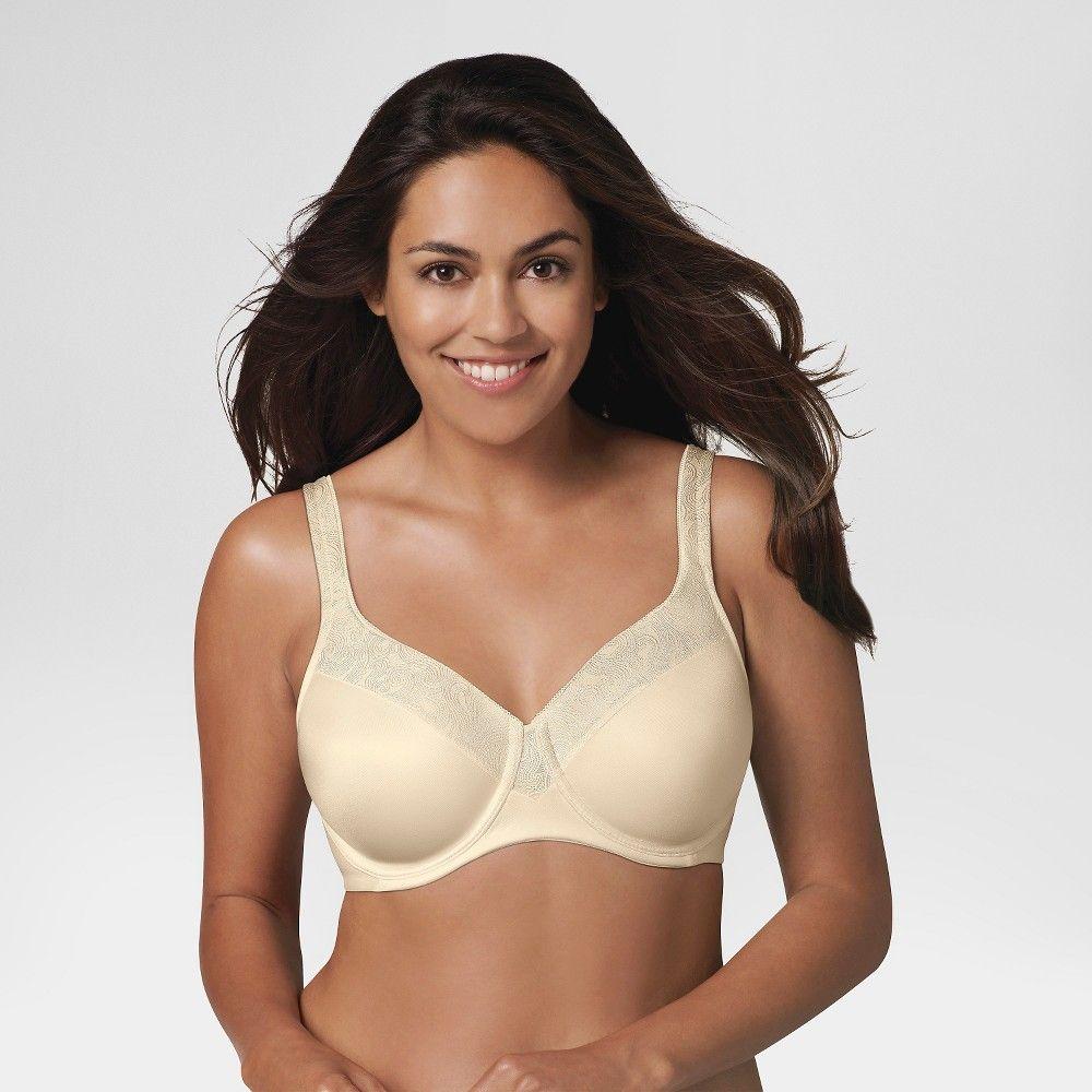 c093f4887d Playtex Secrets Women s Undercover Slimming Shaping Underwire Bra 4S83 -  Natural Beige 36DD